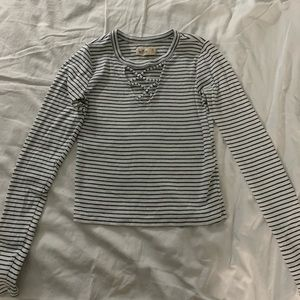 Hollister Striped Long Sleeve
